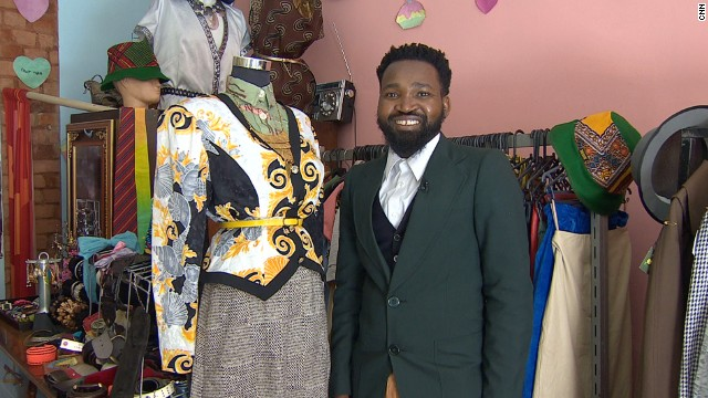 Fruitcake Vintage, in Johannesburg, South Africa, sells used clothes that cater to the city's growing vintage scene.