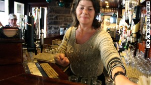 Since Ireland banned indoor smoking, pubs are \