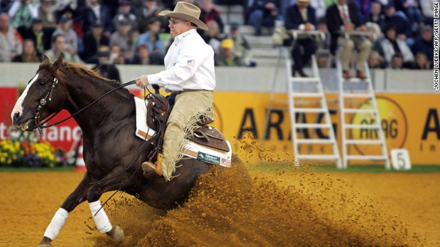 REINING: Originating from the moves that a cattle horse makes while performing its duties, reigning involves horses running approved patterns, divided into different maneuvers. The discipline is closely linked to the spirit of the Wild West and so sporting your cowboy hat and spurs are a must.