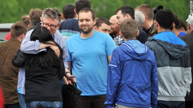 Milicias prorrusas de Slavyansk liberan a los observadores europeos