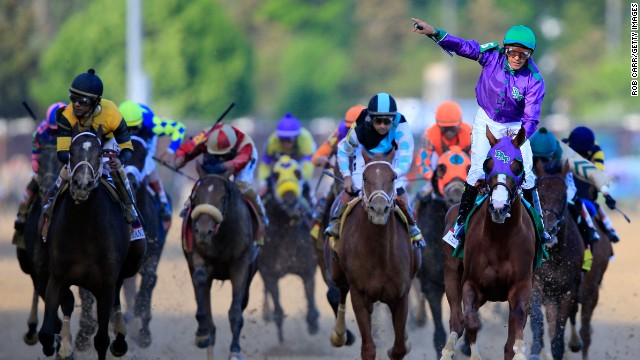 A major highlight for the three-year-old, ridden by Victor Espinoza, was winning the 140th running of the Kentucky Derby at Churchill Downs in May.