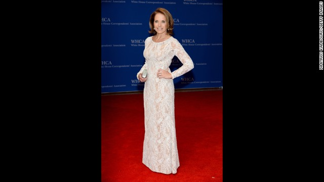 Katie Couric arrives for the White House Correspondents' Association (WHCA) dinner in Washington on Saturday, May 3. Check out what other celebrities, reporters and politicians joined the party.