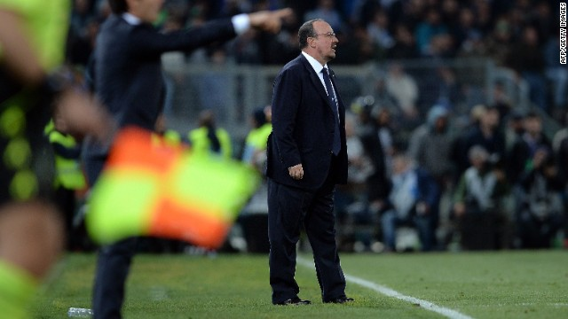 Rafa Benitez, looking for his first trophy with Napoli, tried to squeeze the life out of the game. Despite having a player sent off, Napoli held on and scored a third. The match finished 3-1.