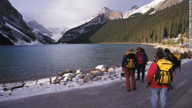 <strong>Canada </strong>ranked at number five on the OECD Better LIfe Index. <a href='http://www.pc.gc.ca/eng/pn-np/ab/banff/index.aspx' target='_blank'>Banff National Park</a> may be one of the reasons why. Canada's oldest national park spans more than 2,500 square miles of mountains, glaciers, forests and lakes. The OECD praises Canadians, who enjoy above the average quality of life in all but one category -- the work-life balance.