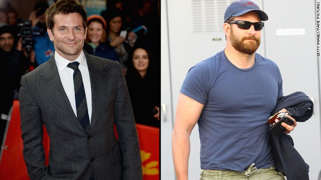 "Bradley Cooper has packed on muscle (and quite the beard) since we saw him in March 2014. The speculation is that Cooper's drastic physical transformation is for his role in 2015's ""American Sniper,"" in which he will play Navy SEAL Chris Kyle."