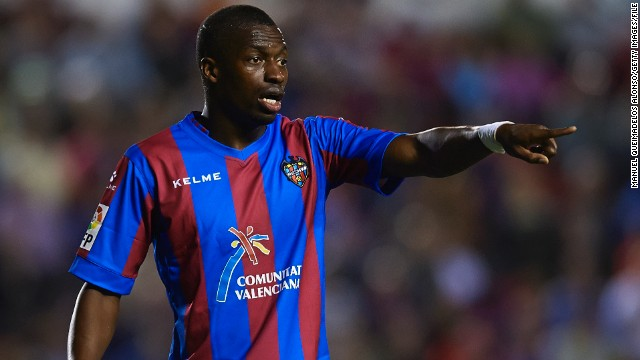 "Levante's Papakouli Diop opted to dance in front of his abusers during a match against Atletico Madrid. ""I was going to take a corner and some of the Atletico fans started making monkey chants."""