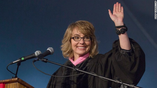 "Former Rep. Gabrielle Giffords majored in sociology and Latin American history. At Bard College's commencement ceremony on May 25, 2013, she <a href='http://www.scrippscollege.edu/about/commencement/gabrielle-giffords.php' target='_blank'>said</a>, ""Pursue your passion, and everything else will fall into place. This is not being romantic. This is the highest order of pragmatism. You should do what you were put here to do — that is the most certain key to success and happiness."""