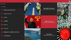The North Korea Travel App includes sections on the country\'s history and culture.