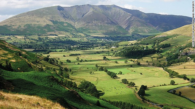 On clear days, Blencathra is said to offer views as far away as Wales.