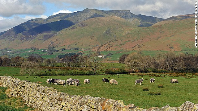 Among England's highest peaks, Blencathra has been put up for sale by its owner -- asking price $3 million.