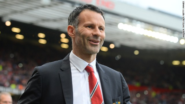 United confirmed that club legend Ryan Giggs, who was interim manager after Moyes was sacked in April, will be Van Gaal's assistant.