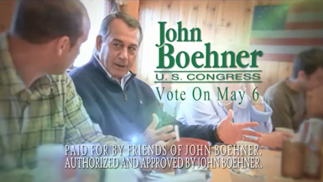 Not much of a primary challenge for Boehner