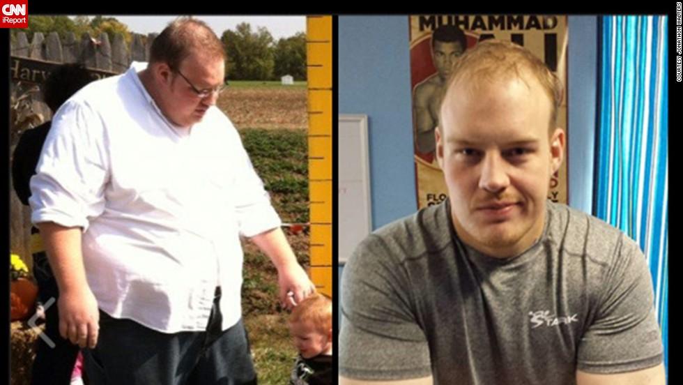 Muerte de su padre lo motivó a perder peso