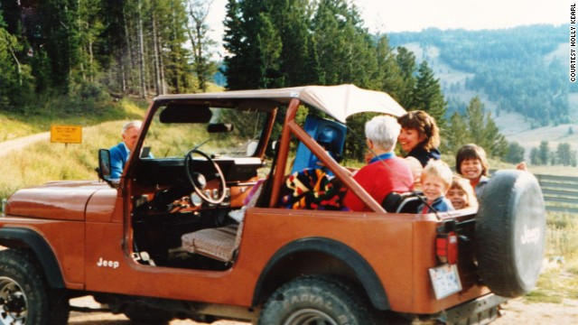 In 1988, she and family members visited Logan Canyon in Utah.