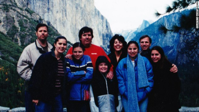 Kearl has visited many states multiple times. In 2001, she and her family visited California's Yosemite National Park.