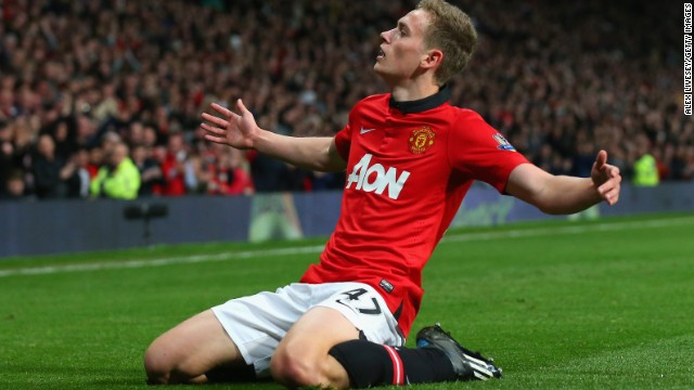 James Wilson, 18, marked his Manchester United debut with two goals in the 3-1 victory over Hull City.