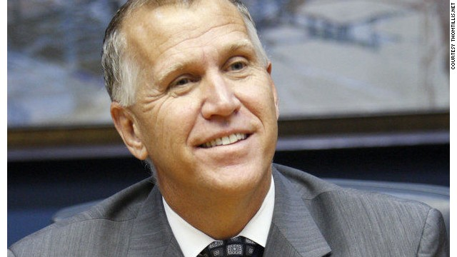 Tillis says rival 'kept quiet' on ISIS
