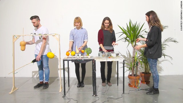 "Crowdfunded ""all-in-one musical invention kit"" <strong><a href='http://dentakulondon.com/ototo/' target='_blank'>Ototo</a></strong> allows you to turn anything into an instrument, although the inventors seem to think you'll mostly be plugging in vegetables."