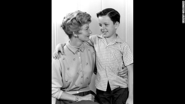 "Ah, motherhood and television. They go together likes hugs and kisses, right? After all, we're talking the medium of ""Leave It to Beaver's"" June Cleaver (Barbara Billingsley, here with Jerry Mathers as the Beaver), among others. But then there are the moms who appear less than loving ..."
