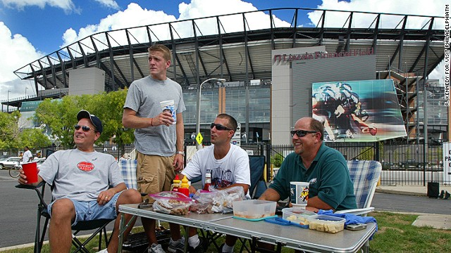 "Even if you're a ""Silver Linings Playbook"" fan, there's no need to get booted out of the stadium while tailgating at Philadelphia Eagles' Lincoln Financial Field."