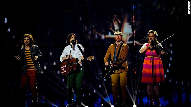 "Among those facing disappointment: Latvian band Aarzemnieki, whose ""Cake to Bake"" song didn't make the grade. Perhaps because, like lamb's head-based dishes, it was a little tough to digest."