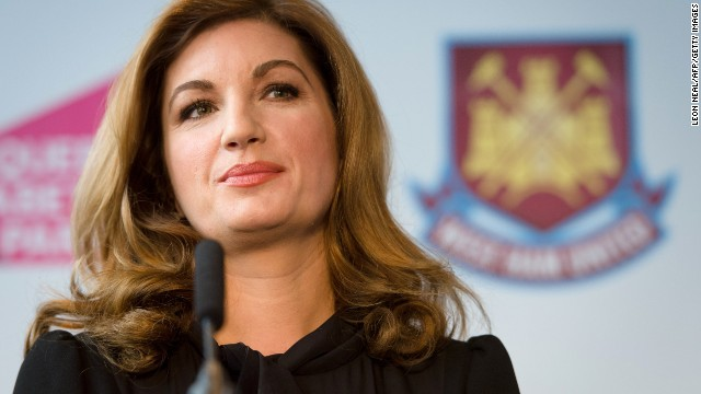 Karren Brady is the vice chairman at English Premier League club West Ham, arriving at the club in 2010. Brady, who is helping to oversee West Ham's move to London's Olympic Stadium in 2016, is a former managing director of Birmingham City.