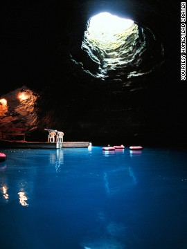 "You can swim and snorkel in the subterranean pool featured in the opening scene of ""127 Hours."" It's at the Homestead Resort in Midway, Utah."