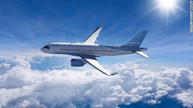 Odyssey Airlines plans to buy 10 Bombardier CSeries aircraft for its all-business-class service between London and New York.