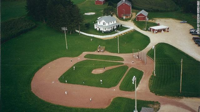 Twenty five years and one huge hit movie after the perfect farm was cast in Dyersville, Iowa, 65,000 annual visitors flock to The Field of Dreams Movie Site.