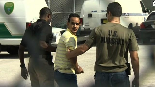 Raonel Valdez-Valhuerdis was wanted in connection with the largest gold heist in Florida.
