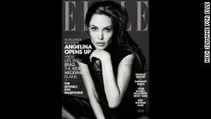 Angelina Jolie\'s full interview in the June issue of Elle magazine is available digitally and will be on newsstands nationwide starting May 20.