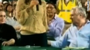 In March 2012, the mayor of Bolivia was twice caught on camera touching the bottom of the city council\'s president.