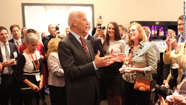 Biden courts Iowa leaders