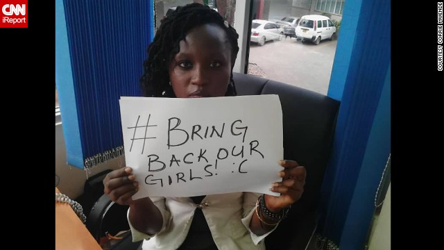 Weeks after the April 14 kidnapping of 276 Nigerian girls, worried families and supporters blamed the government for not doing enough to find them. Their cries spread worldwide on social media under the hashtag #BringBackOurGirls. From regular people to celebrities, here are some of the people participating in the movement.