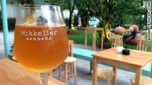 Mikkeller Bangkok is the brand\'s first bar in Asia.