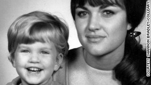 Shannon Bradley-Colleary posed with her mom in 1967.
