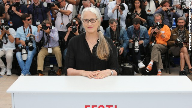 Award winning New Zealand screen writer Jane Campion, the only female director to win the Palme d'Or, presides over this year's jury which includes Leila Hatami, Willem Dafoe and Sofia Coppola.