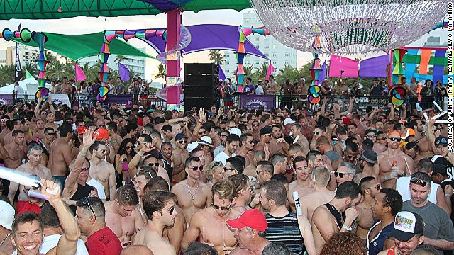 Miami hosts the Winter Party Festival (pictured), one of the world's biggest celebrations for the LBGT community. The city is a top honeymoon destination as chosen by the Association of British Travel Agents. Scroll through the gallery for more of the group's picks.