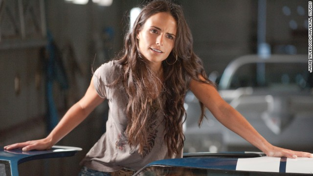"Mia was the sixth-most popular name among girls in 2013, with plenty of possible celeb inspiration, from soccer star Mia Hamm to ""The Fast and the Furious"" character Mia Toretto, played by actress Jordana Brewster, pictured."