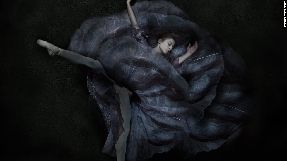 "How do you capture the dramatic movement of ballet in a static image? It's a question which has challenged artists for centuries.<!-- --> </br><!-- --> </br>Danish photographer <a href='http://www.ingridbugge.com/en/' target='_blank'>Ingrid Bugge</a> uses a mixture of digital technology and Renaissance-inspired painting to bring to life the ethereal world of ballet in her book,<a href='http://www.ingridbugge.com/en/art-book-essence-ballet/' target='_blank'> ""The Essence of Ballet.""</a> Now turned into an interactive <a href='http://vimeo.com/90956066' target='_blank'>ibook,</a> readers are given a behind-the-scenes look at how she created the haunting images.<!-- --> </br><!-- --> </br><i>Interview by Sheena McKenzie</i>"