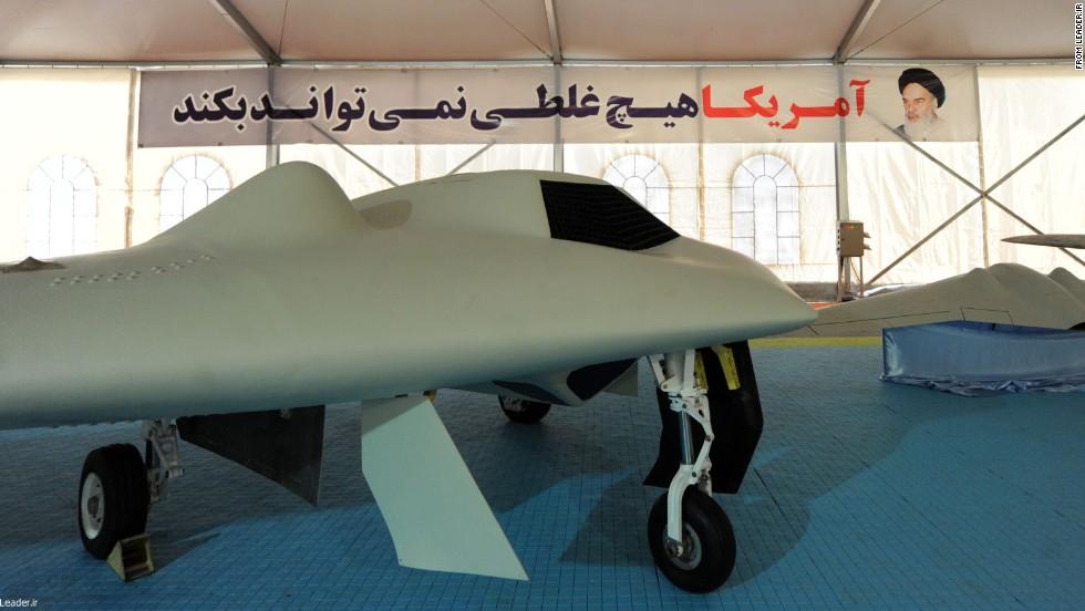 El nuevo 'drone' espía de Irán