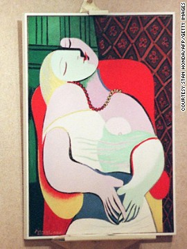American hedge fund manager Steven A. Cohen also snapped up this 1932 Picasso painting <i>Le Reve</i> in March 2013 at a private sale. The piece, which he bought for an estimated $155 million, portrays Picasso's 22-year-old mistress Marie-Thérèse Walter.