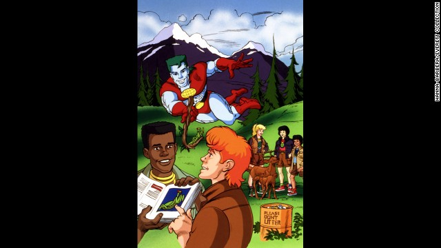 "Kwame, the character Burton voiced on the '90s children's cartoon ""Captain Planet and the Planeteers,"" could often be found with his nose in a book."