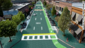 Solar-powered roads of the future