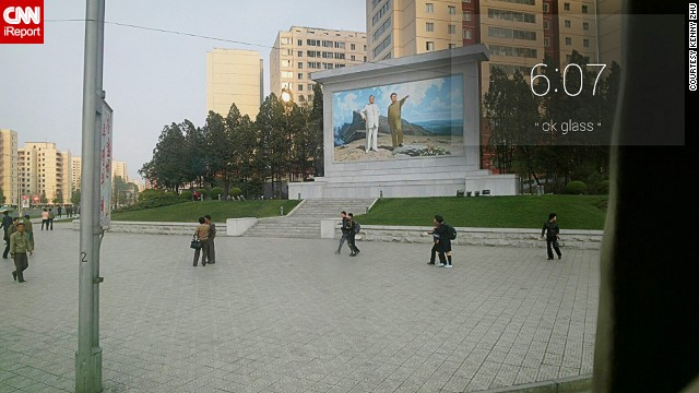North Korea through a Google Glass lens