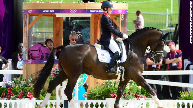 Dujardin had claimed to be happy to have qualified, but dominated the competition with a series of faultless displays.