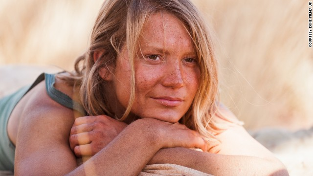"Now her remarkable journey has been turned into a feature film, called ""Tracks,"" starring Mia Wasikowska (pictured)."