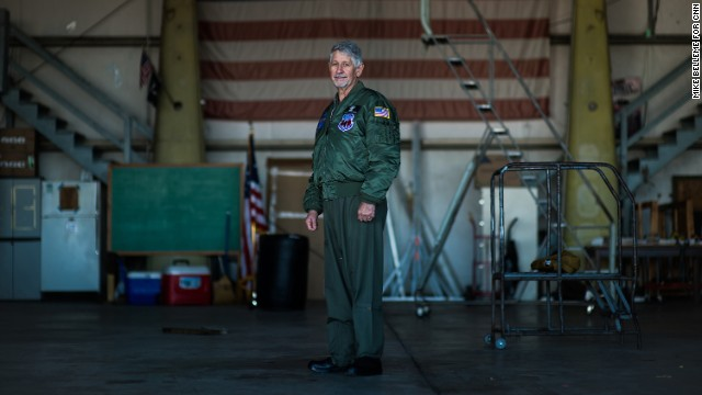 Retired Army Col. Ralph Kahlan, a Huey pilot, is a veteran of two tours of Vietnam.
