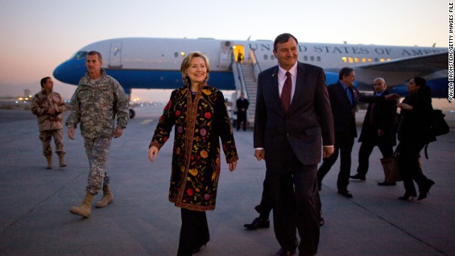 Hillary Clinton set a record for visiting 112 countries while serving as secretary of state.