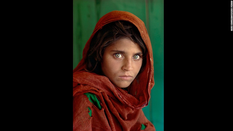 "Steve McCurry has been photographing Afghanistan's people and landscape for 35 years. His iconic portrait ""Afghan Girl"" has become a symbol of Middle Eastern culture and part of photographic history. The full collection of McCurry's images from Afghanistan is on display at the Beetles+Huxley gallery in London until June 7. <a href='http://edition.cnn.com/video/?/video/world/2014/05/13/ctw-natpkg-mccurrys-afghanistan-photography.cnn&video_referrer=' target='_blank'>Watch McCurry talk about his work from the country.</a>"